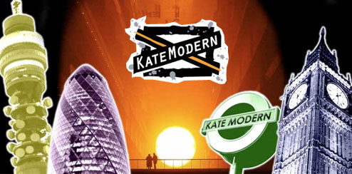 Kate Modern - Bebo Profile Skin