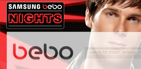 Basshunter - Bebo Homepage Takeover