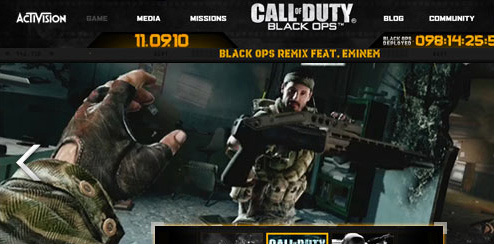 Call of Duty: Black Ops - Video Ad Unit Expandable - MPU 300x250 and Expandable 600x300